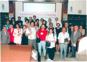 Rueda de Prensa: Presentación del Camino de Santiago en el Instituto de Cardiología el 18 de junio de 1997