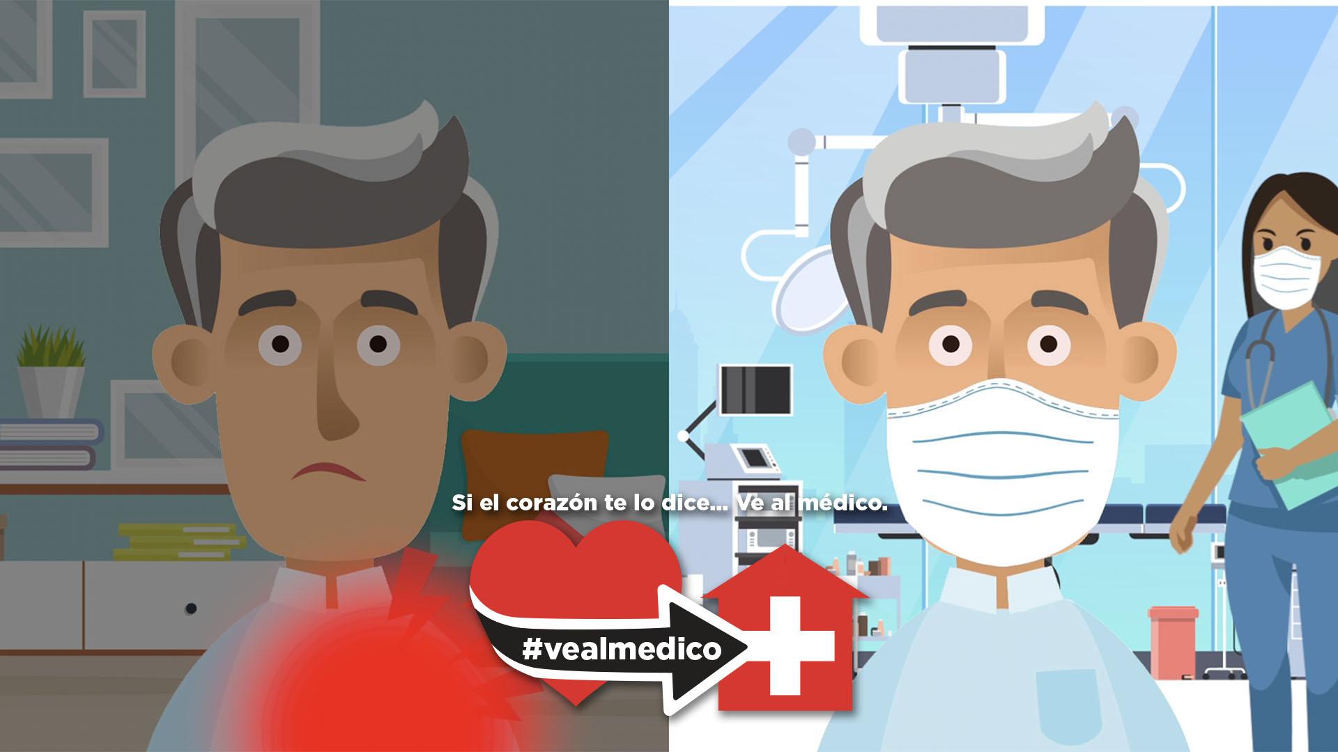 Si el corazón te lo dice, #VeAlMédico